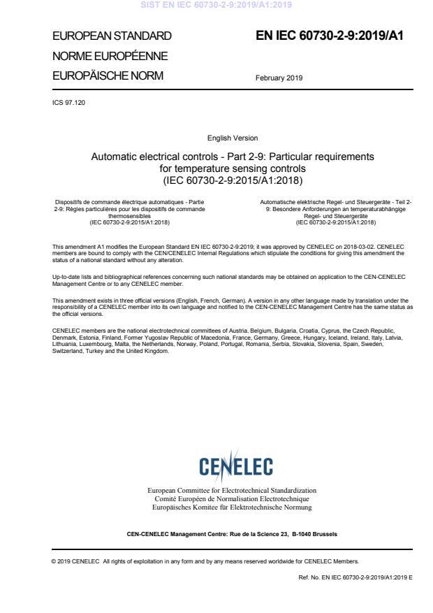 SIST EN IEC 60730-2-9:2019/A1:2019 - BARVE na PDF-str 15. Vodni pretisk se prestavi na sredino na PDF-str 17,18,19