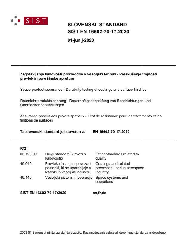 SIST EN 16602-70-17:2020 - BARVE na PDF-str 17