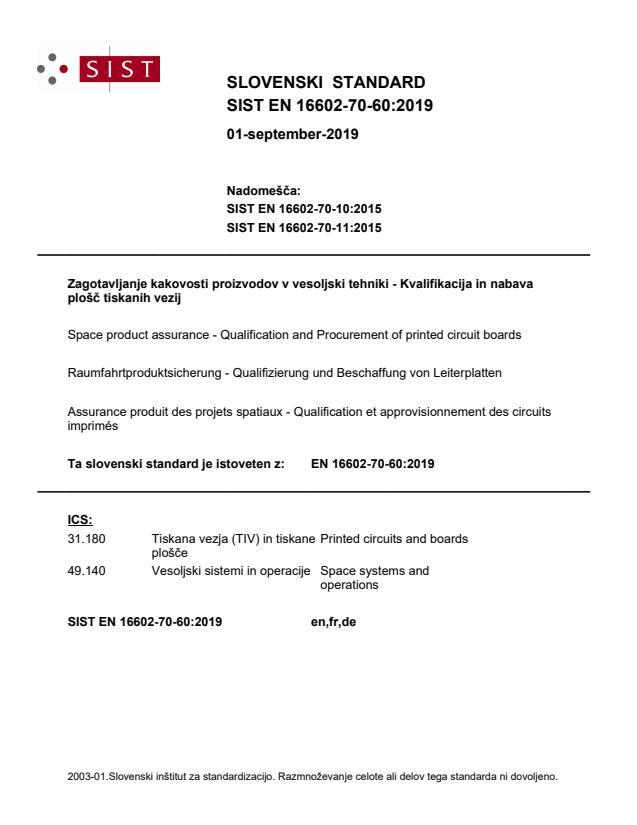 EN 16602-70-60:2019 - BARVE