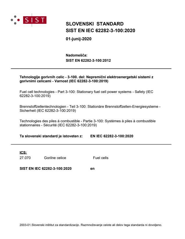SIST EN IEC 62282-3-100:2020