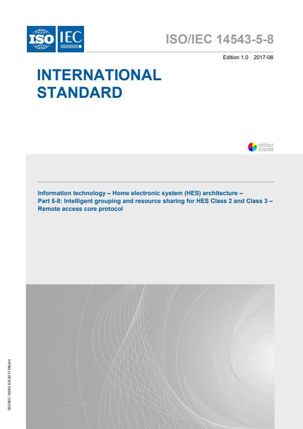 ISO/IEC 14543-5-8:2017