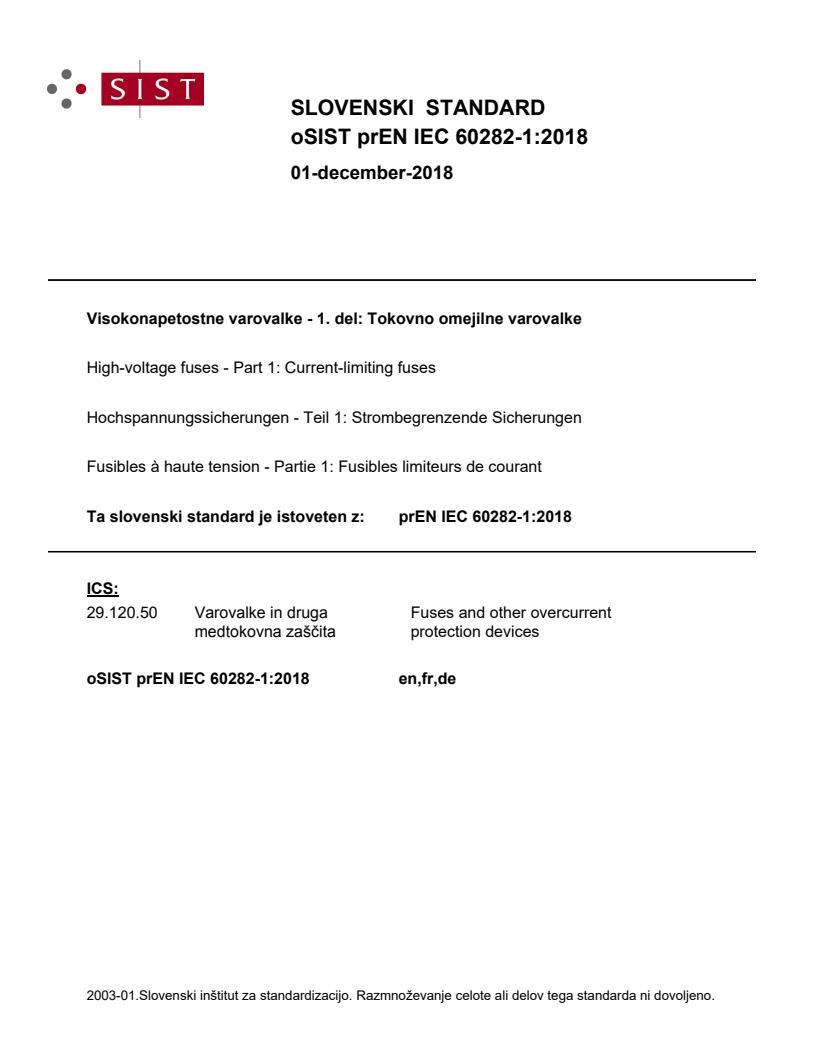 SIST EN IEC 60282-1:2020