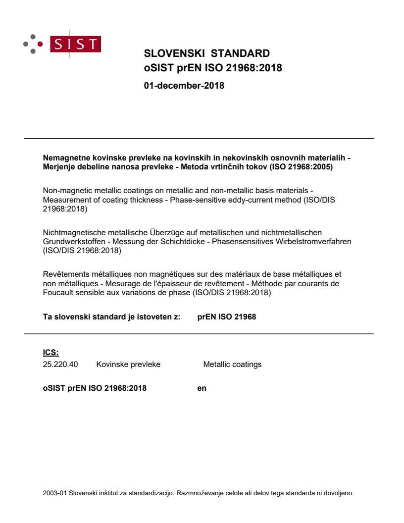 EN ISO 21968:2019