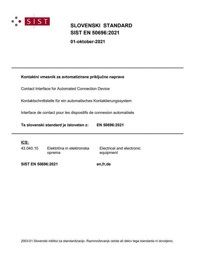 SIST EN 50696:2021 - BARVE na PDF-str 13,51,52,65,66