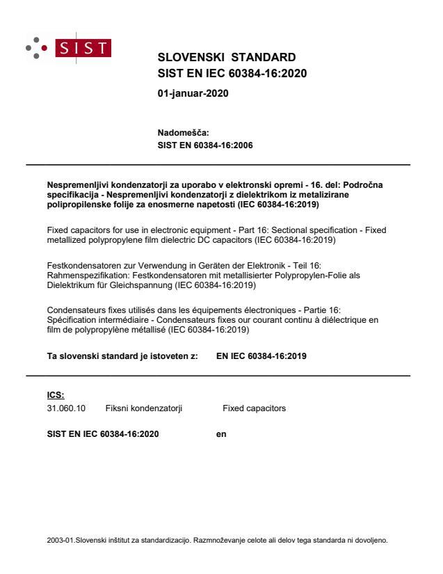 EN IEC 60384-16:2020