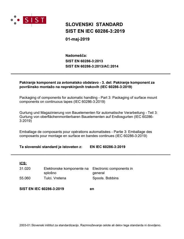 SIST EN IEC 60286-3:2019