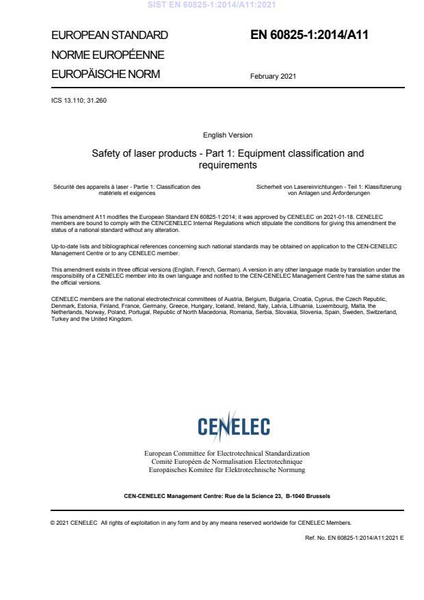 SIST EN 60825-1:2014/A11:2021 - BARVE na PDF-str 9,12