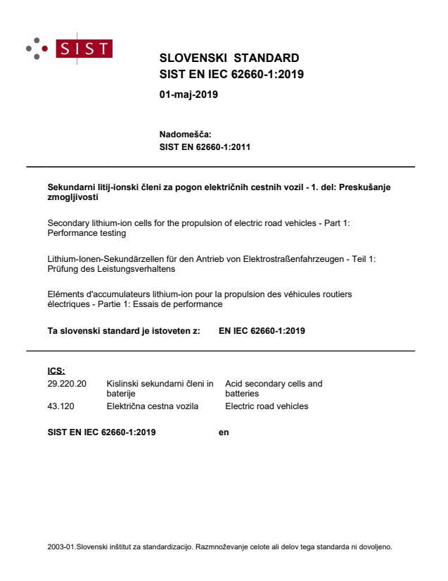 EN IEC 62660-1:2019
