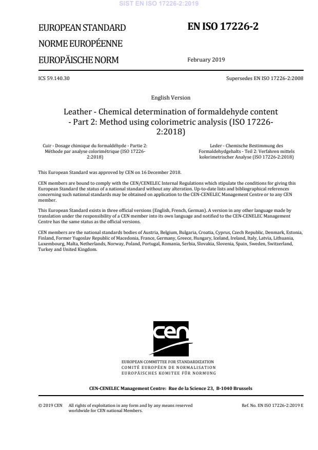EN ISO 17226-2:2019