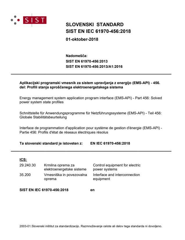 SIST EN IEC 61970-456:2018 - BARVE