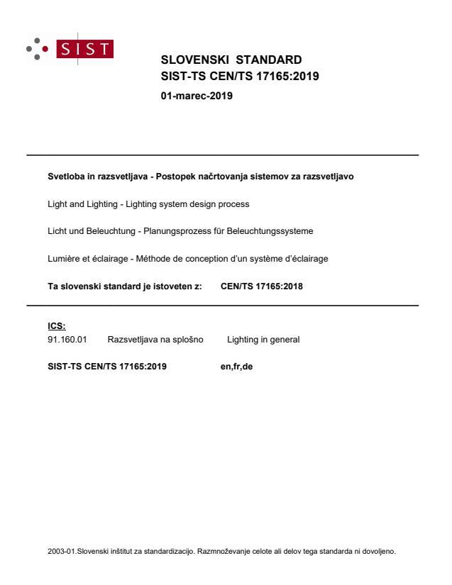 CEN/TS 17165:2018