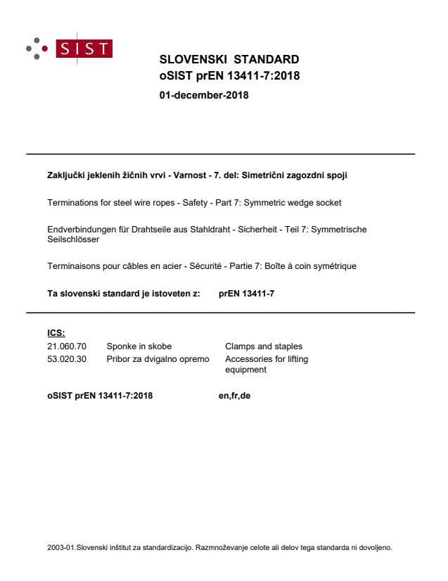 oSIST prEN 13411-7:2018
