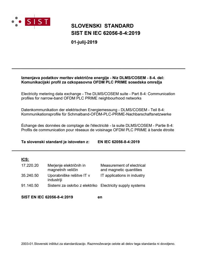 EN IEC 62056-8-4:2019 - BARVE na PDF-str: od 68 do 81