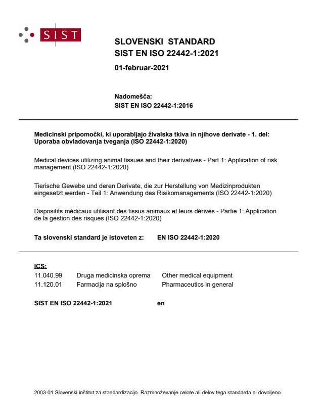 EN ISO 22442-1:2021