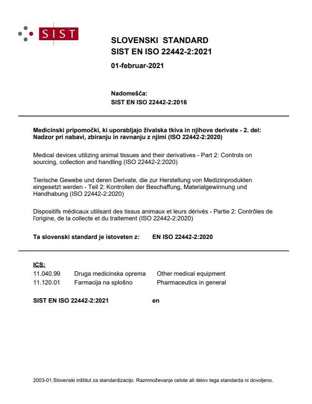 EN ISO 22442-2:2021