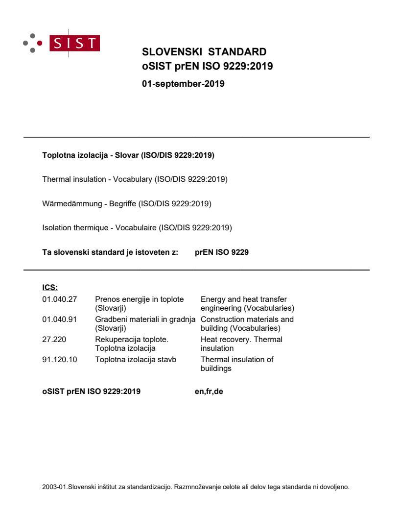 EN ISO 9229:2020