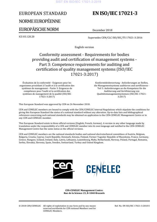 EN ISO/IEC 17021-3:2018