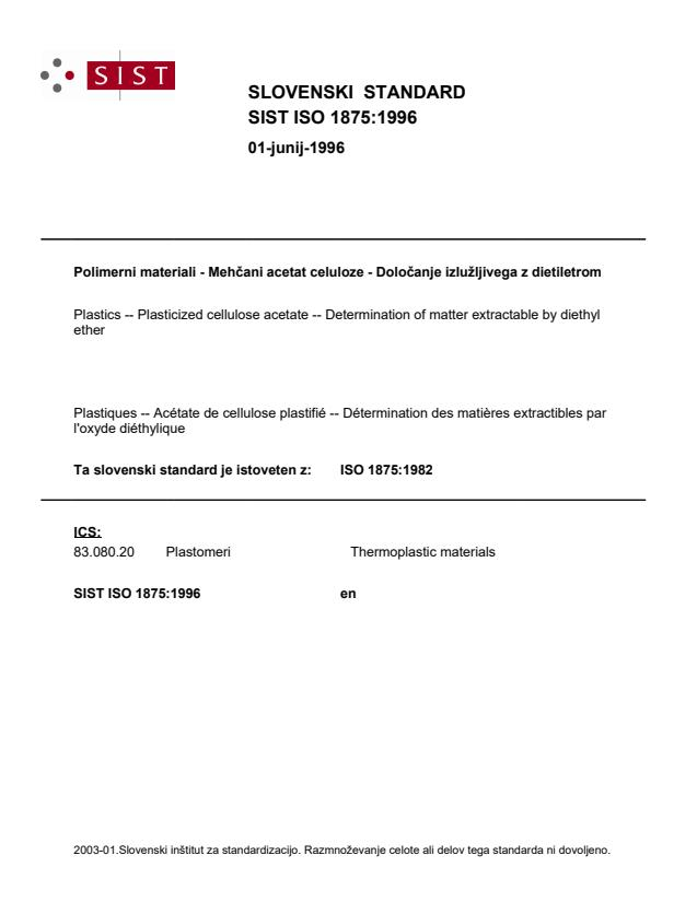 ISO 1875:1982