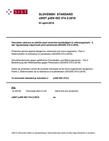 EN ISO 374-2:2019