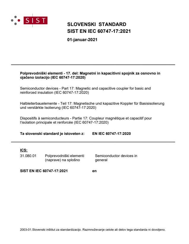 SIST EN IEC 60747-17:2021