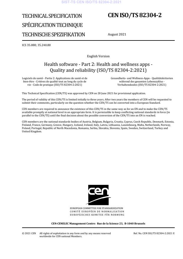 -TS CEN ISO/TS 82304-2:2021 - BARVE na PDF-str 61,63,64