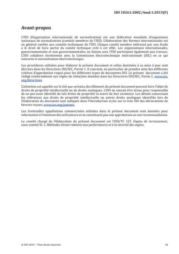 ISO 10261:2002/Amd 1:2015