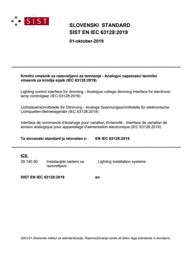 SIST EN IEC 63128:2019