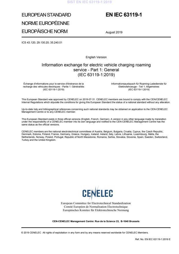 EN IEC 63119-1:2019