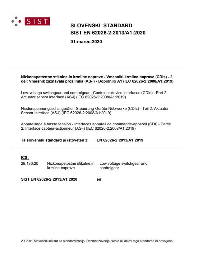 EN 62026-2:2013/A1:2020