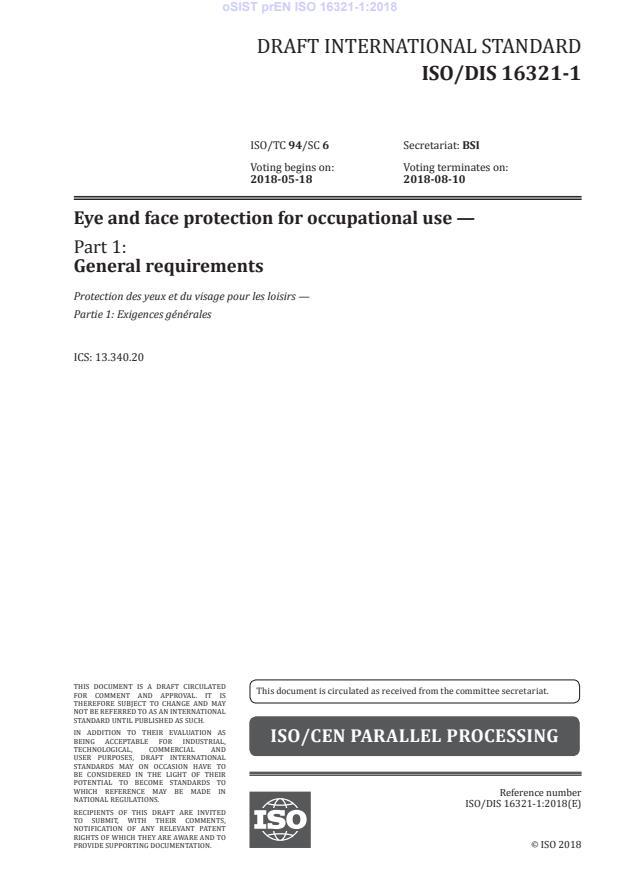 FprEN ISO 16321-1