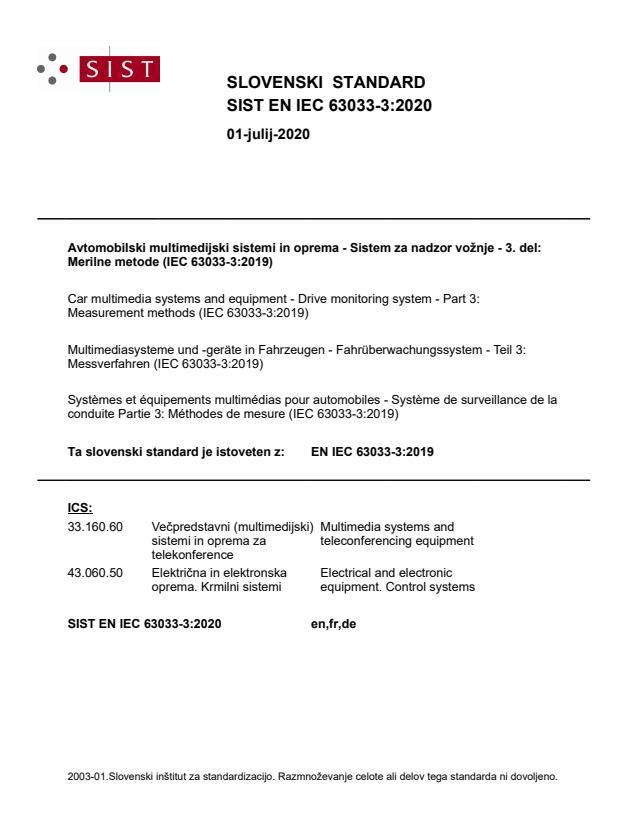 EN IEC 63033-3:2019
