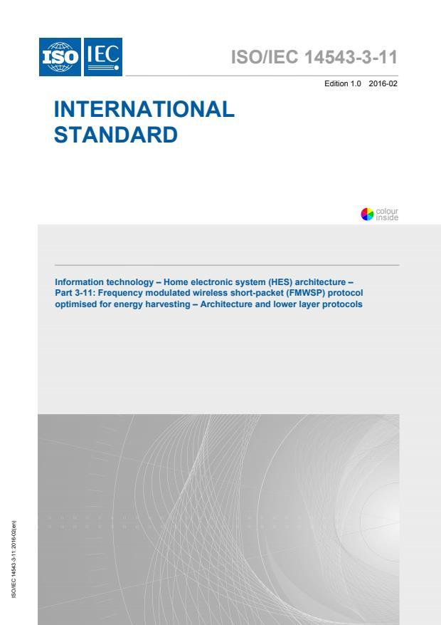ISO/IEC 14543-3-11:2016