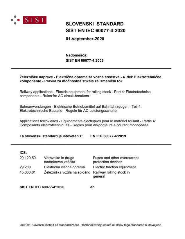 SIST EN IEC 60077-4:2020