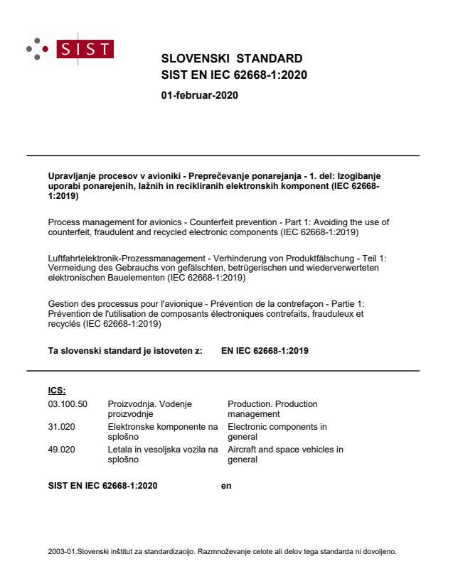 EN IEC 62668-1:2019