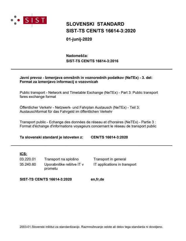 CEN/TS 16614-3:2020