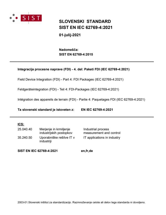 SIST EN IEC 62769-4:2021 - BARVE