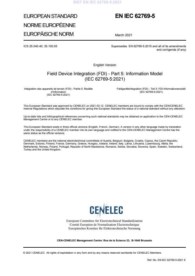 SIST EN IEC 62769-5:2021 - BARVE