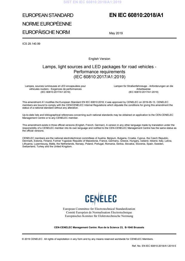 SIST EN IEC 60810:2018/A1:2019