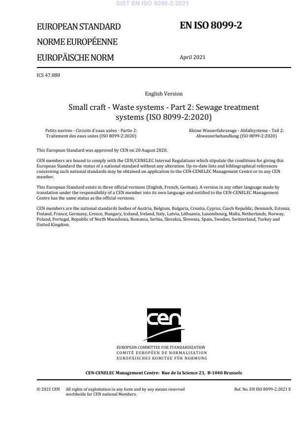 SIST EN ISO 8099-2:2021