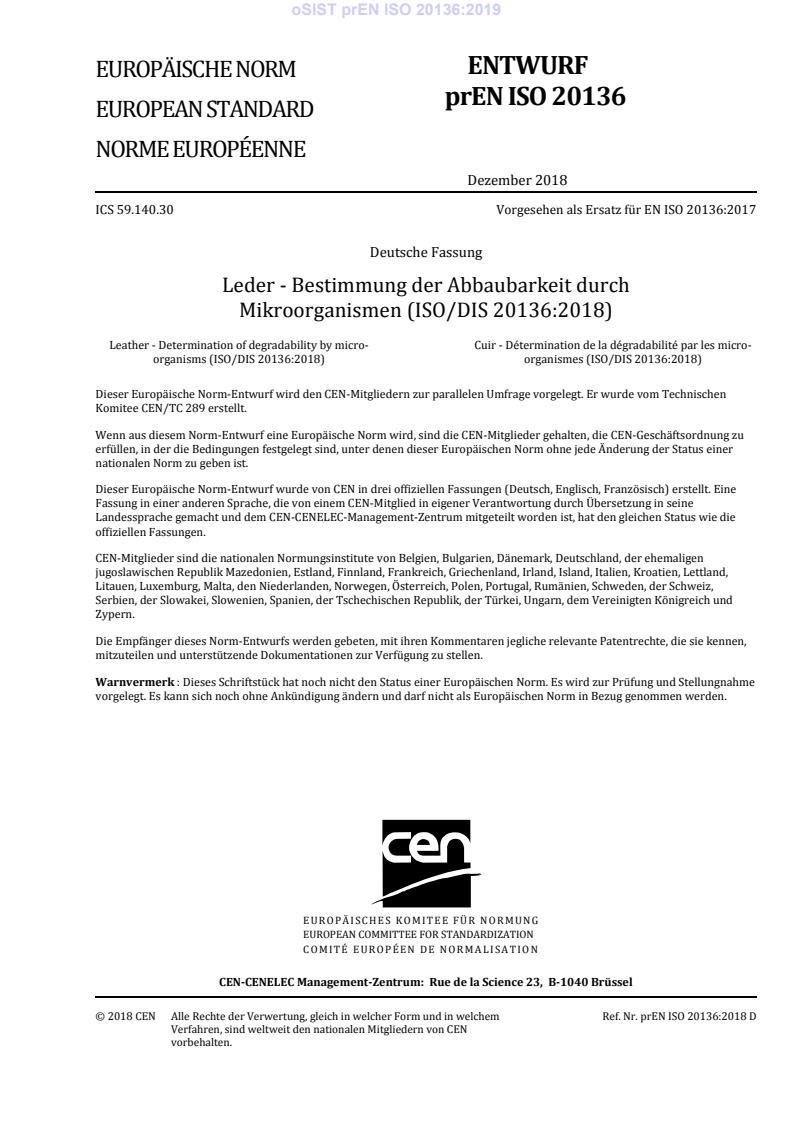 SIST EN ISO 20136:2020