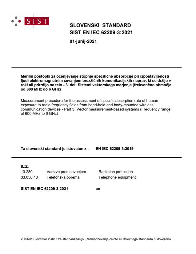 SIST EN IEC 62209-3:2021