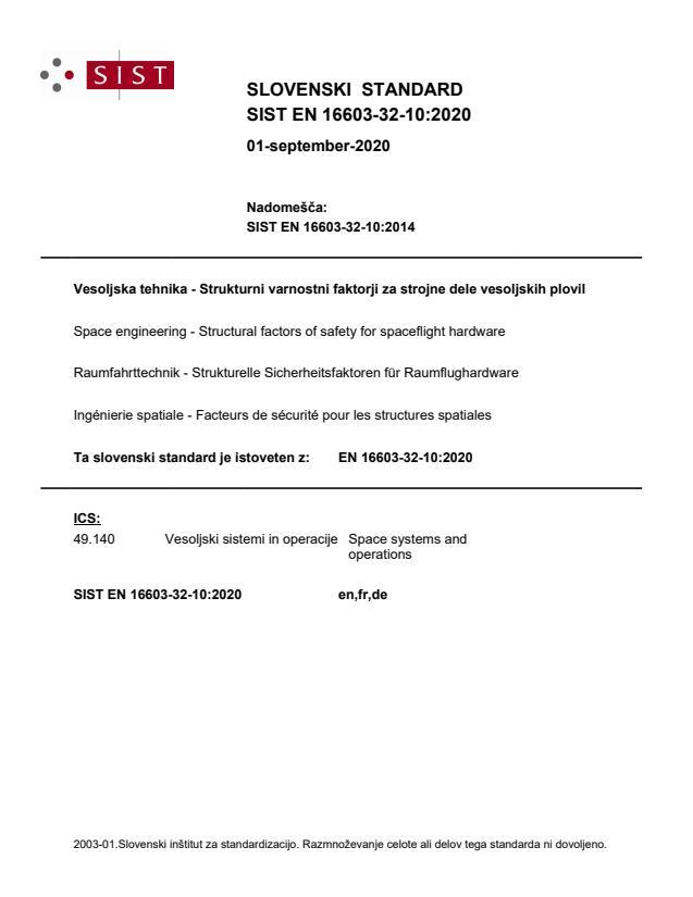 SIST EN 16603-32-10:2020 - BARVE na PDF-str 17,18