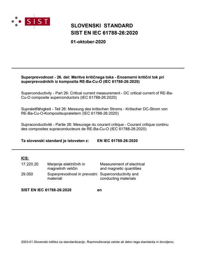 SIST EN IEC 61788-26:2020