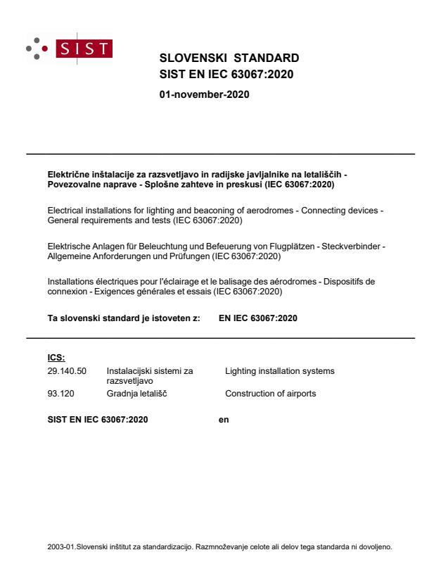 SIST EN IEC 63067:2020