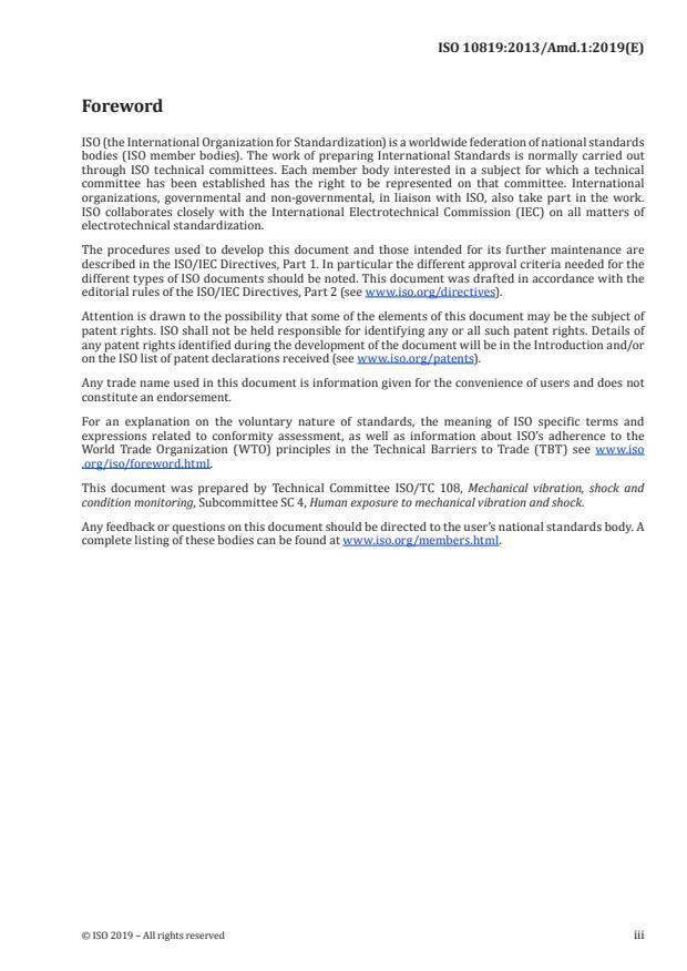 ISO 10819:2013/Amd 1:2019