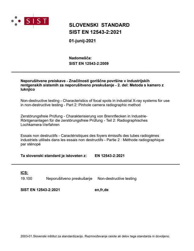 SIST EN 12543-2:2021 - BARVE na PDF-str 15,16