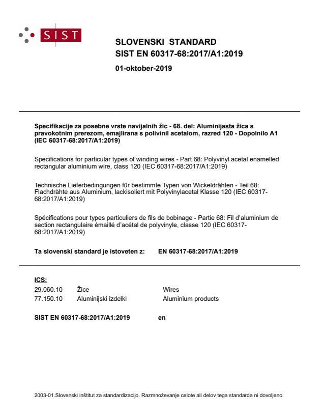 SIST EN 60317-68:2017/A1:2019