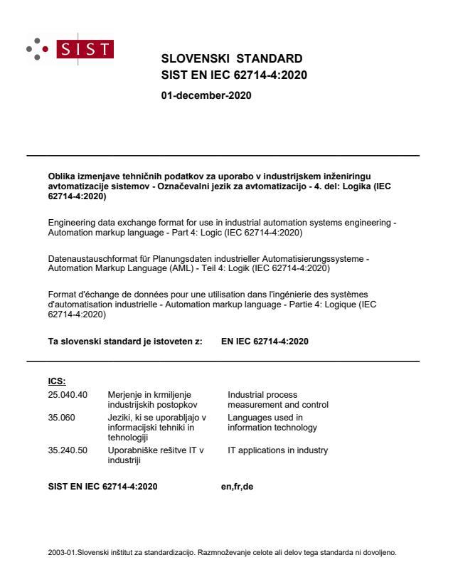 SIST EN IEC 62714-4:2020 - BARVE