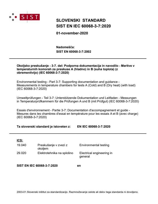SIST EN IEC 60068-3-7:2020