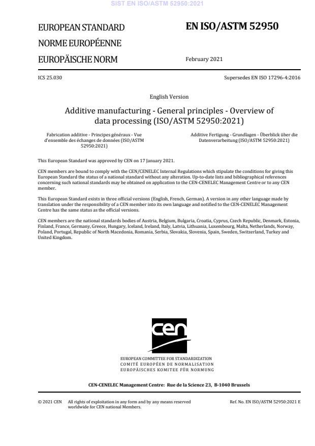 EN ISO/ASTM 52950:2021